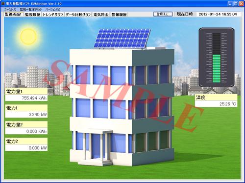 電力量監視パッケージソフトE2Monitor